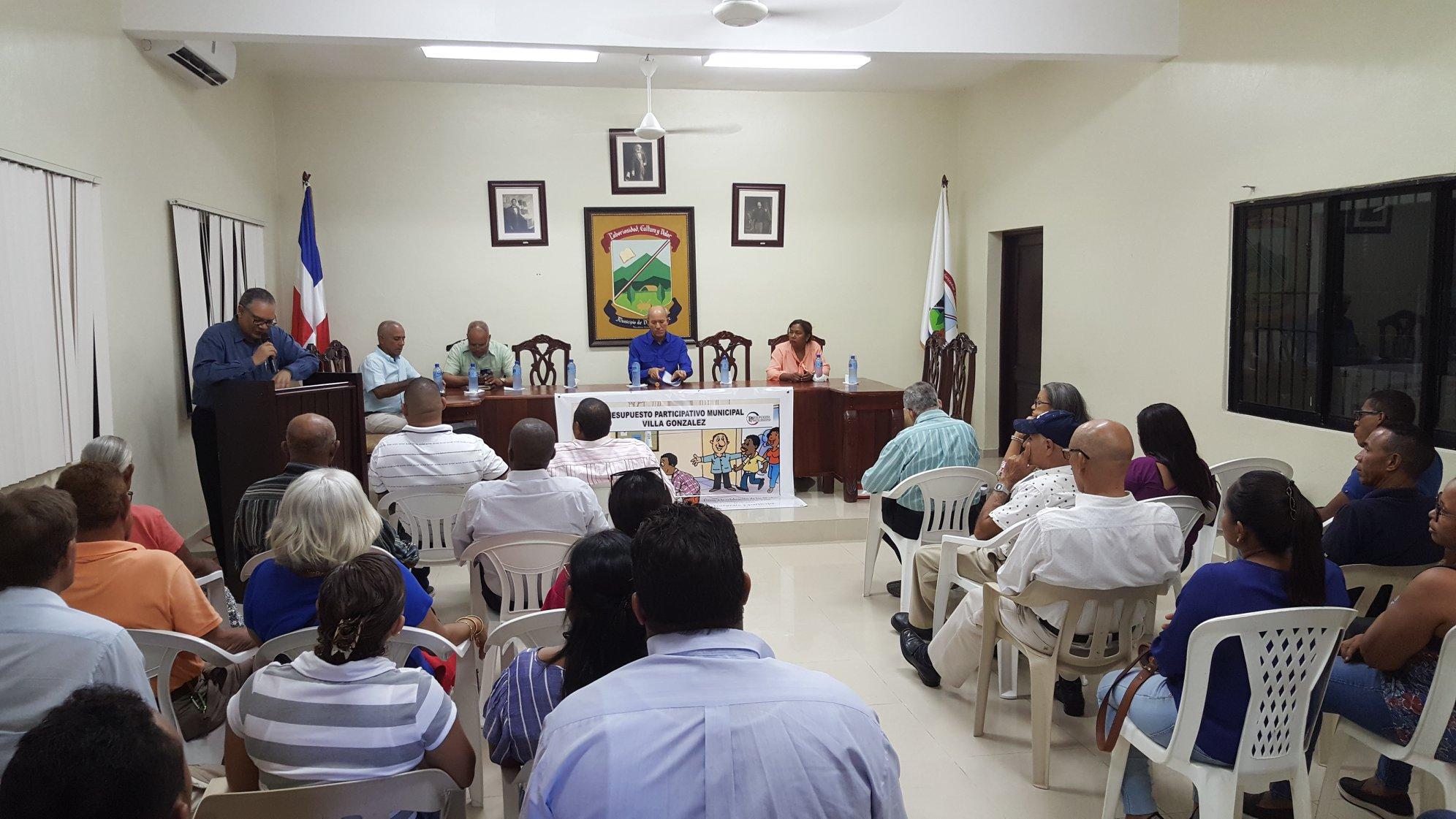 Ayuntamiento de Villa González, Inicia Proceso PPM 2019-2020.