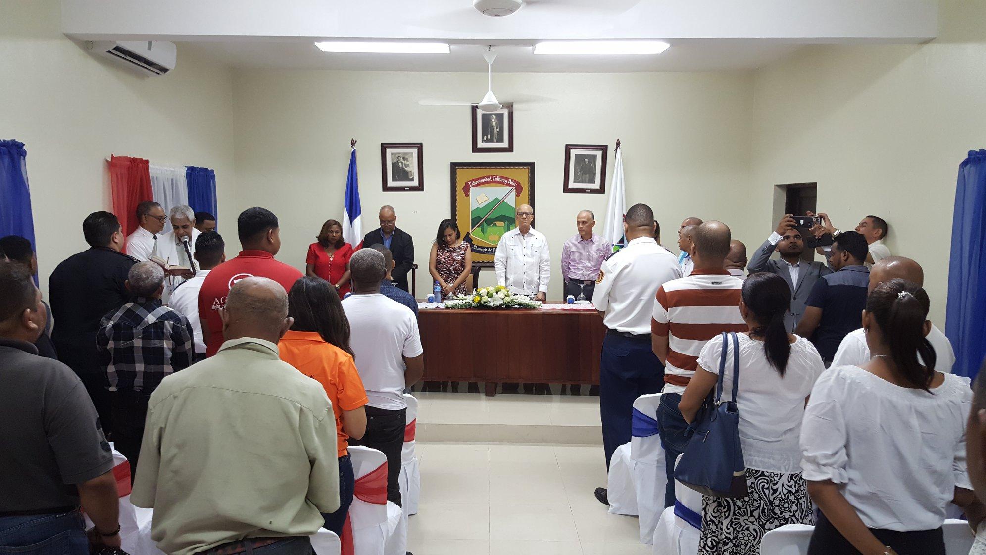 Rendición de Cuenta del Ayuntamiento de Villa González 2019, Alcalde Ing. César Álvarez.
