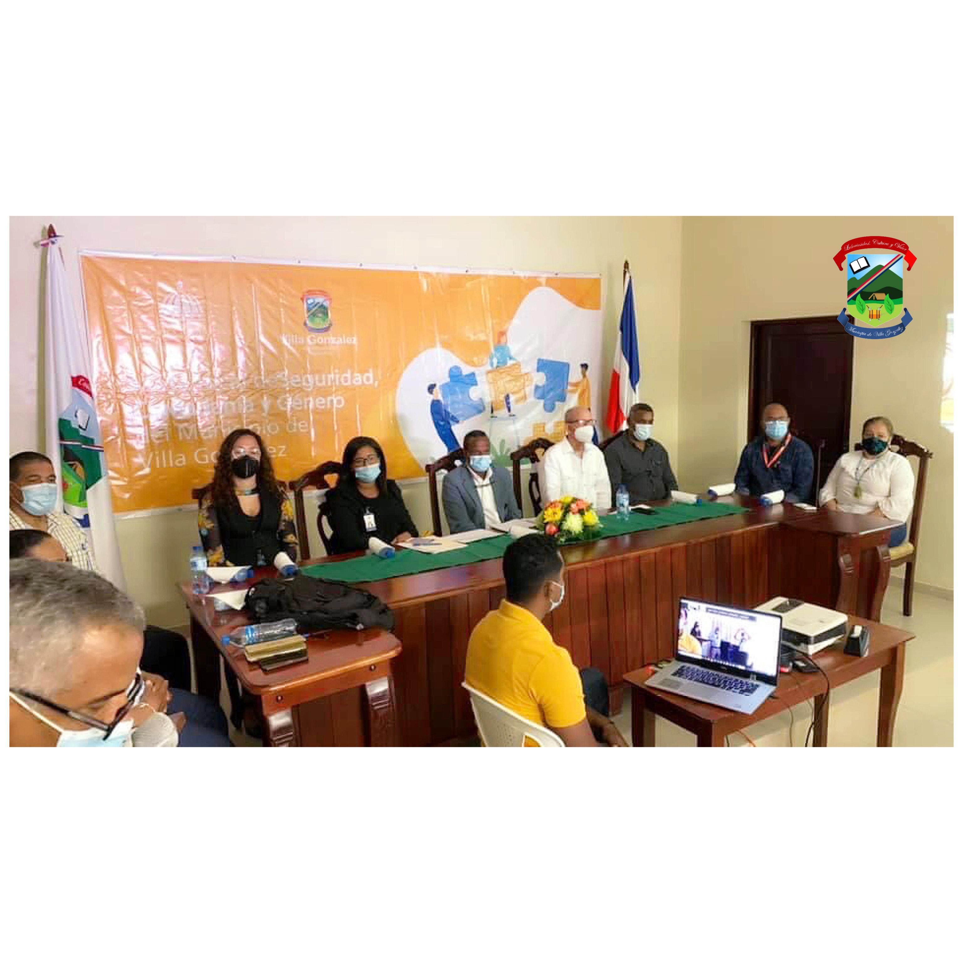 Ayuntamiento de Villa González Realiza Convocatoria Mesa Local de Seguridad, Ciudadanía y Genero del Municipio de Villa González